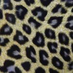 Leopardo Charol oro